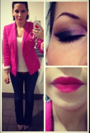 'Think Pink' OOTD &FOTD
