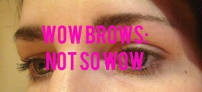 Wow Brows: Not SoWow