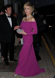 Jane Fonda in Cannes