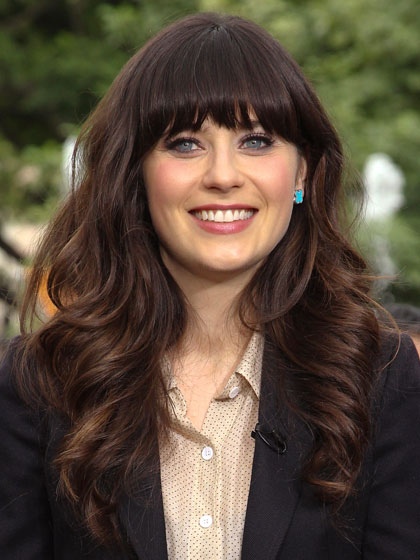Zooey Deschanel Hair Layers Hair Today, Gone Tomor...