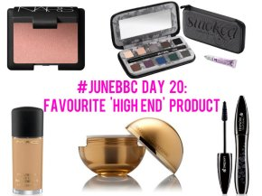 #JuneBBC Day 20: Favourite 'High End' Product