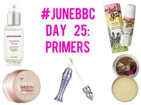 #JuneBBC Day 25: Primer – Do You Use It