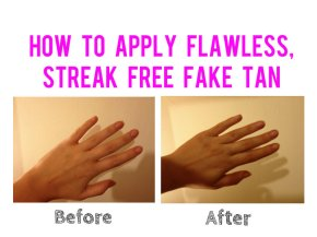 How To Apply Flawless, Streak Free Fake Tan: Hands & Feet
