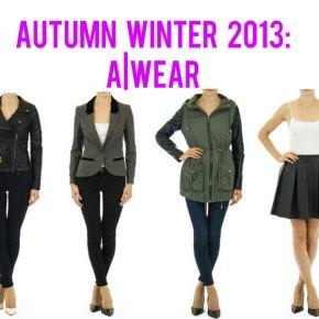 Autumn Winter 2013 Fashion:A Wear